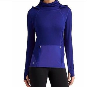 Athleta Plush Tech Hoodie 3.0 in Sapphire Blue